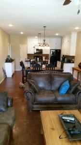 23 living-dining room finish