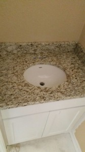 28 bathroom vanity installation